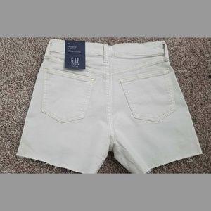 """GAP Shorts - GAP High Waisted 4"""" Denim Shorts"""
